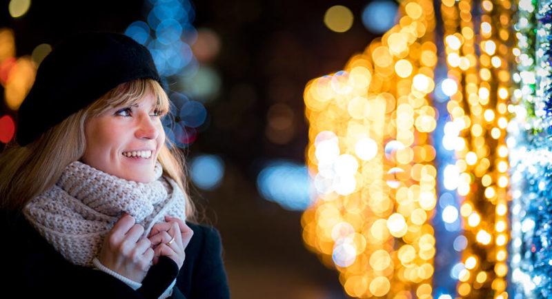 Lichter im Winter