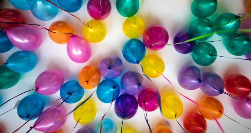 Geburtstagsballons