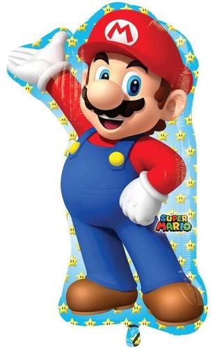 Super Mario Folienballon groß