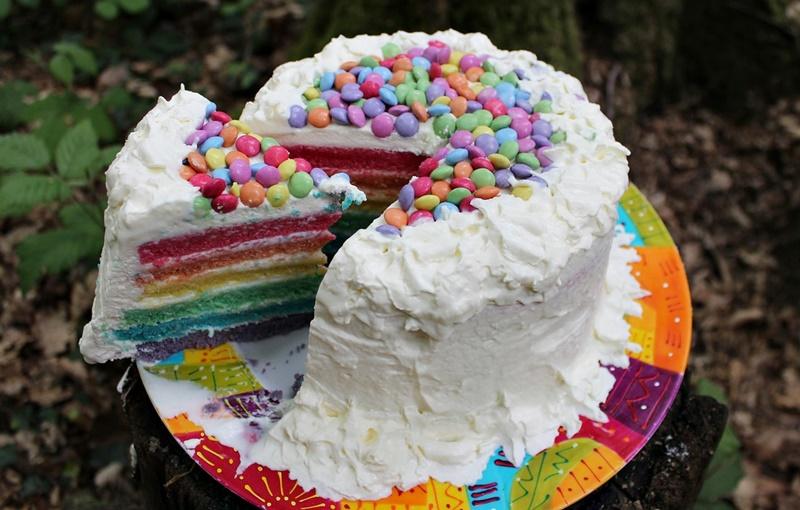 Rainbow Kuchen