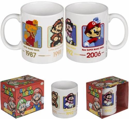 Super Mario Tasse 1987 bis 2006