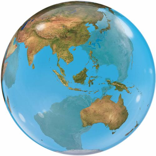 Bubble Ballon Erde