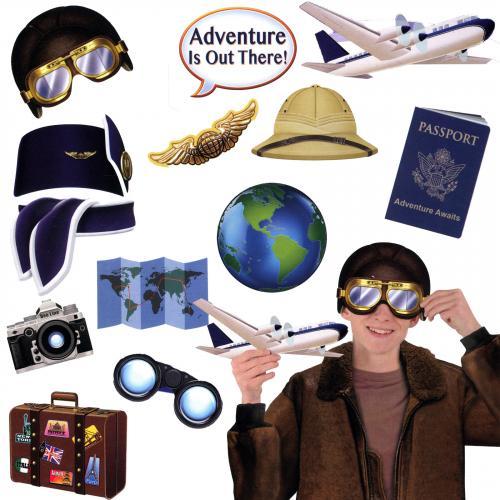 Foto-Accessoires Weltreise
