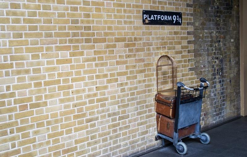 Hogwarts Express Gleis 9 3/4
