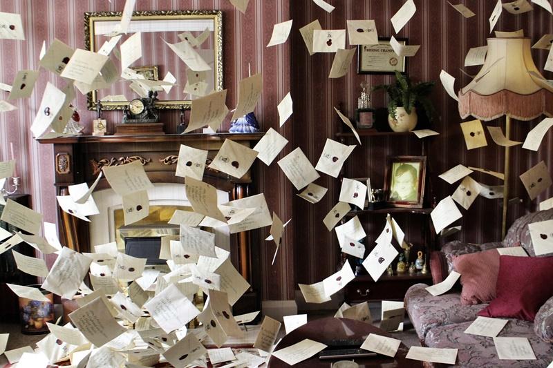 Einladungen nach Hogwarts