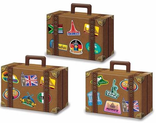 Geschenkboxen Koffer