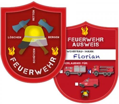 Feuerwehr Ausweise Kinder