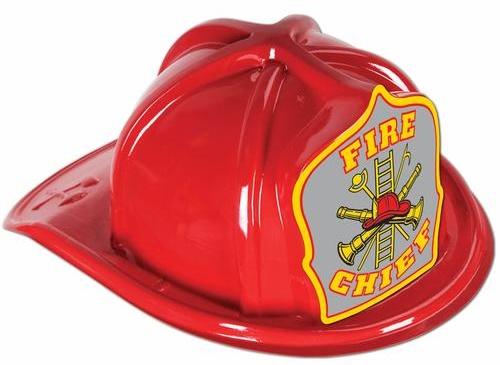 Feuerwehrhelm rot Fire Chief