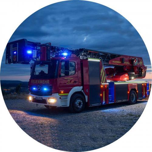 Kuchendekor Feuerwehr