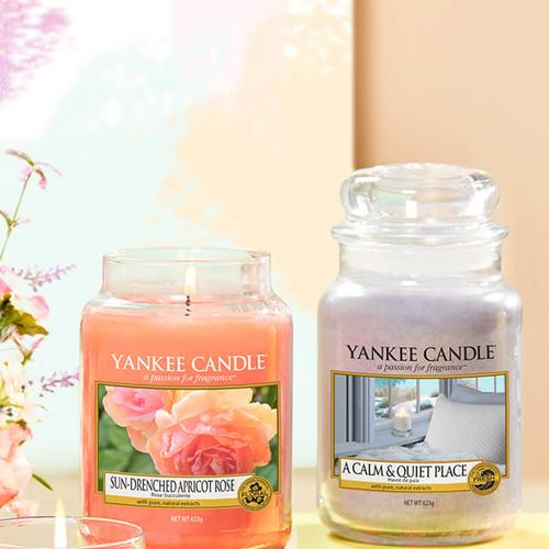 Yankee Candle Duftkerze A Calm & Quiet Place 623g