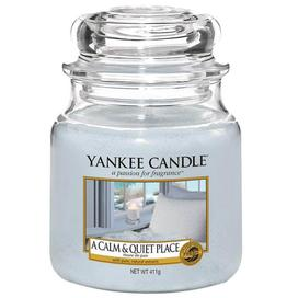 Yankee Candle A Calm & Quiet Place mittleres Glas