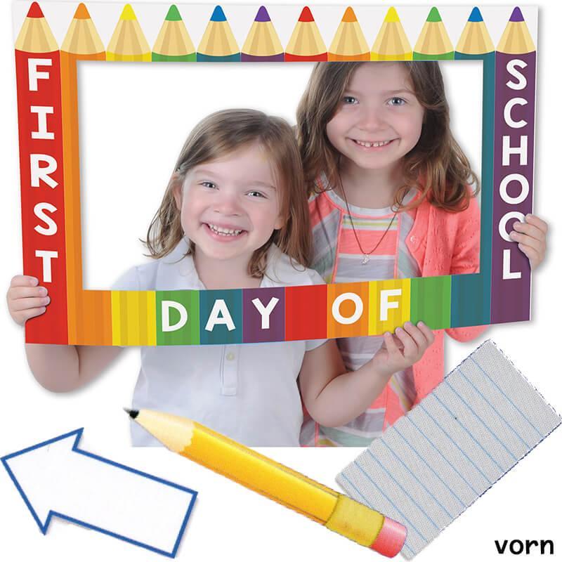 1. Schultag Fotoshooting Bilderrahmen für Einschulung kaufen ...