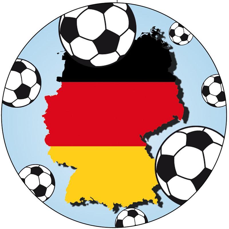 fußballdeko deutschland partydeko zur fußballparty