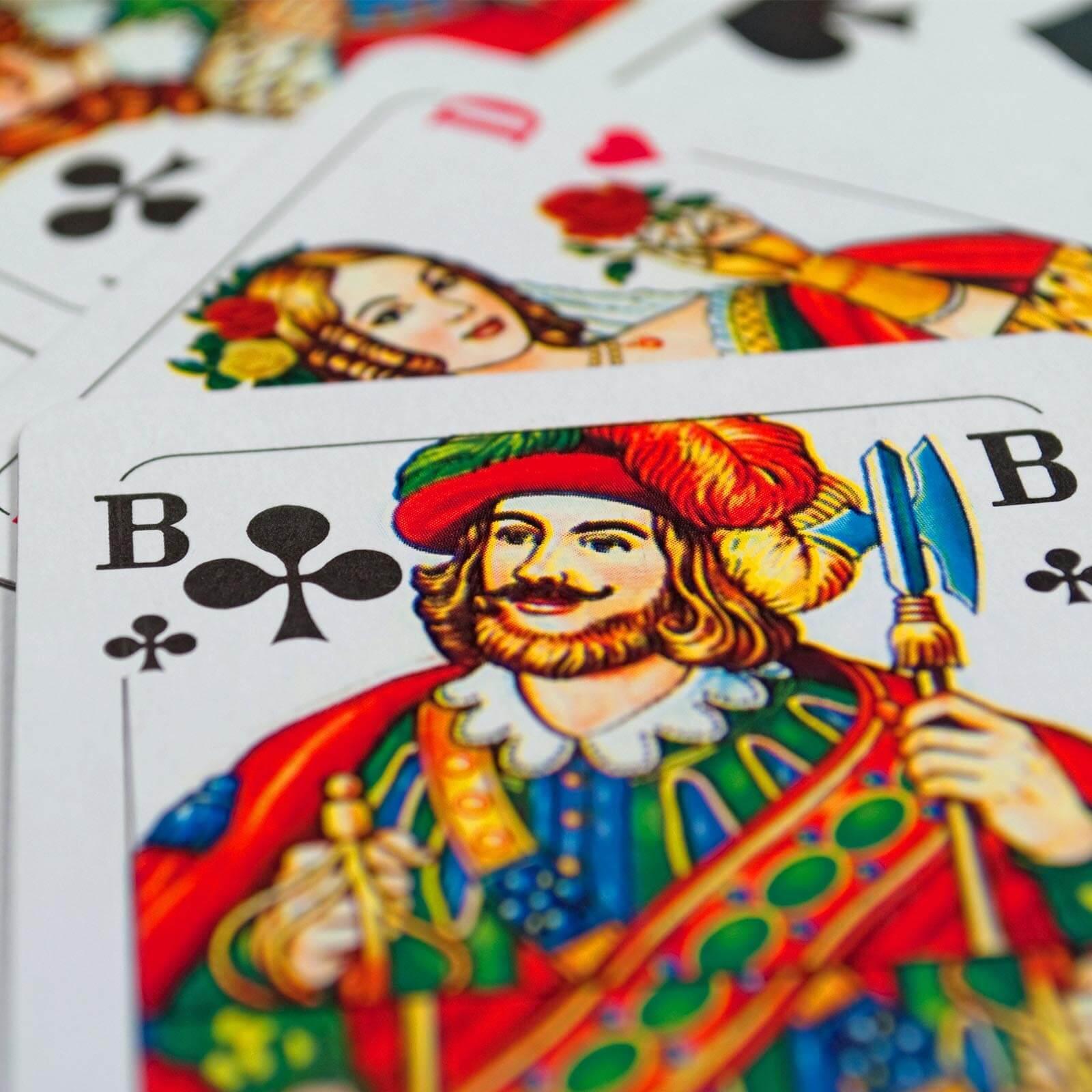 Romme Spielkarten