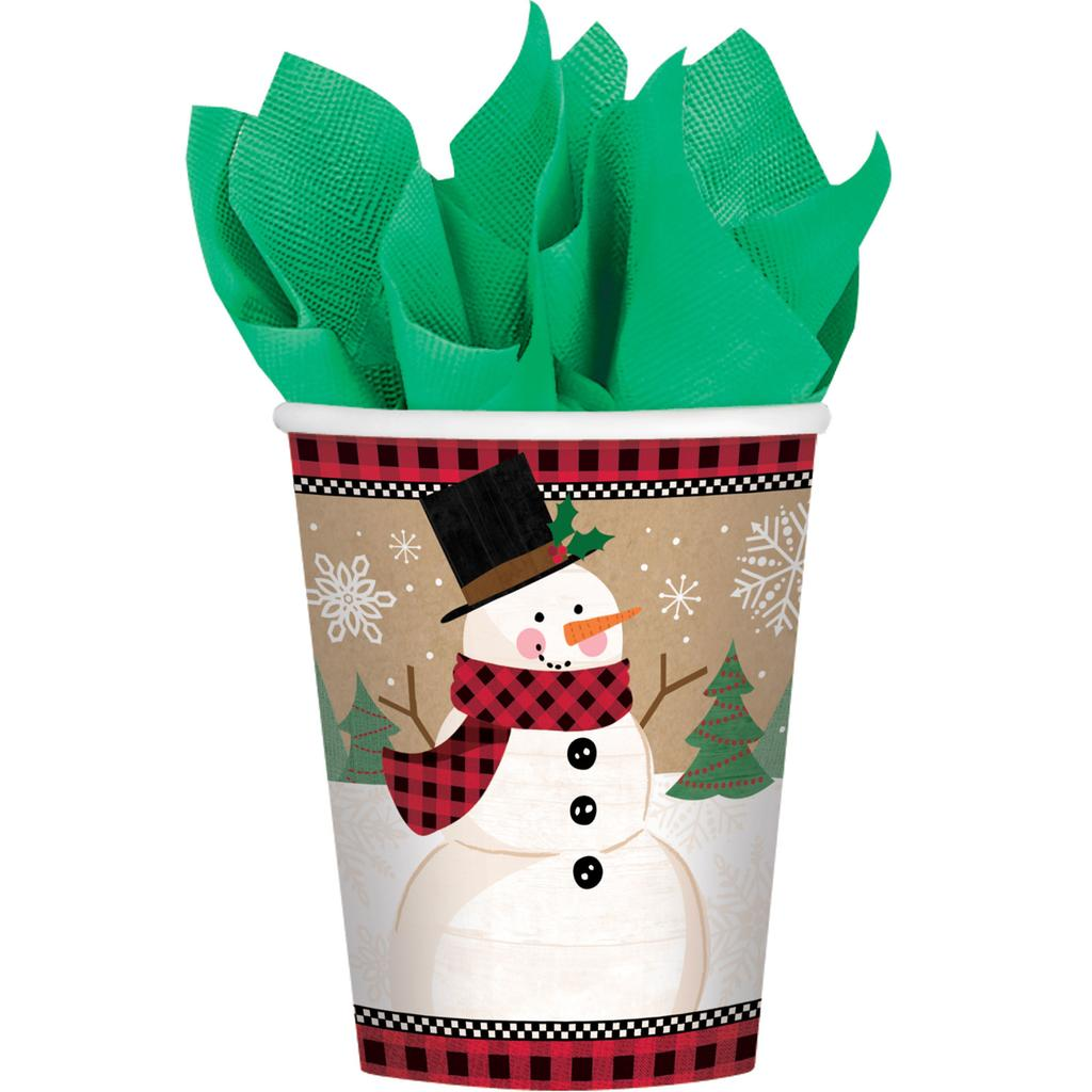 Golden Weihnachten Partyartikel Tassen X 8 Weihnachts Party