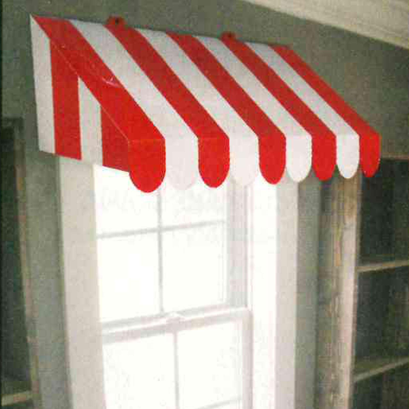 Hervorragend Bistro-Dach - Markise - rot-weiß - Partydeko & Partyartikel für BO07