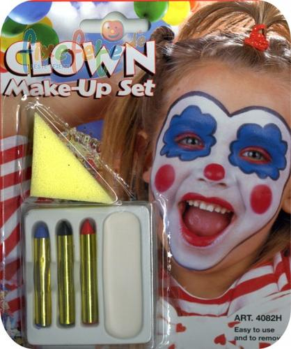 Clown - Make-Up - Schminkset