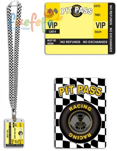 VIP - Racing-Team-Pass am Halsband