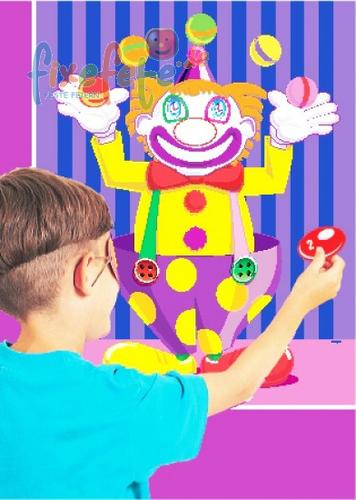 Clown-Party-Spiel - klein