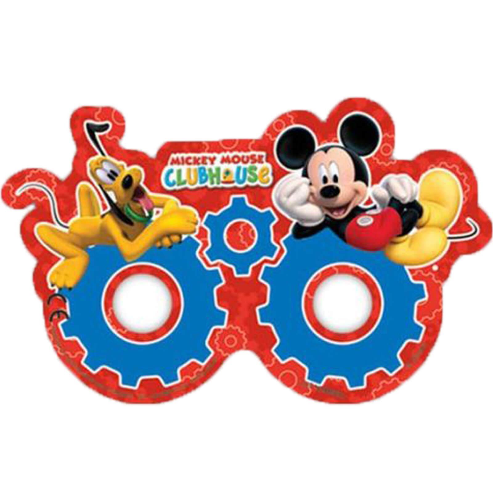 masken mickey mouse - 6er-pack - partydeko & partyartikel
