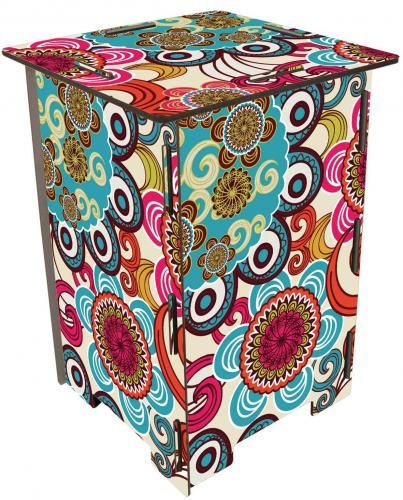 Flower Power - Mandala - Hocker