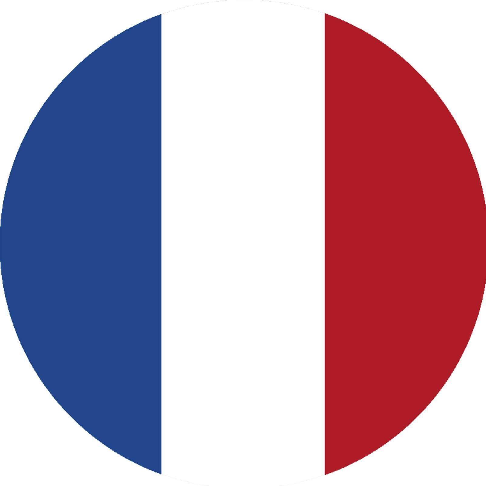 Tortenaufleger Frankreich Flagge rund kaufen - Partydeko & Partyartikel für  Mottopartys im fixefete.de Shop kaufen