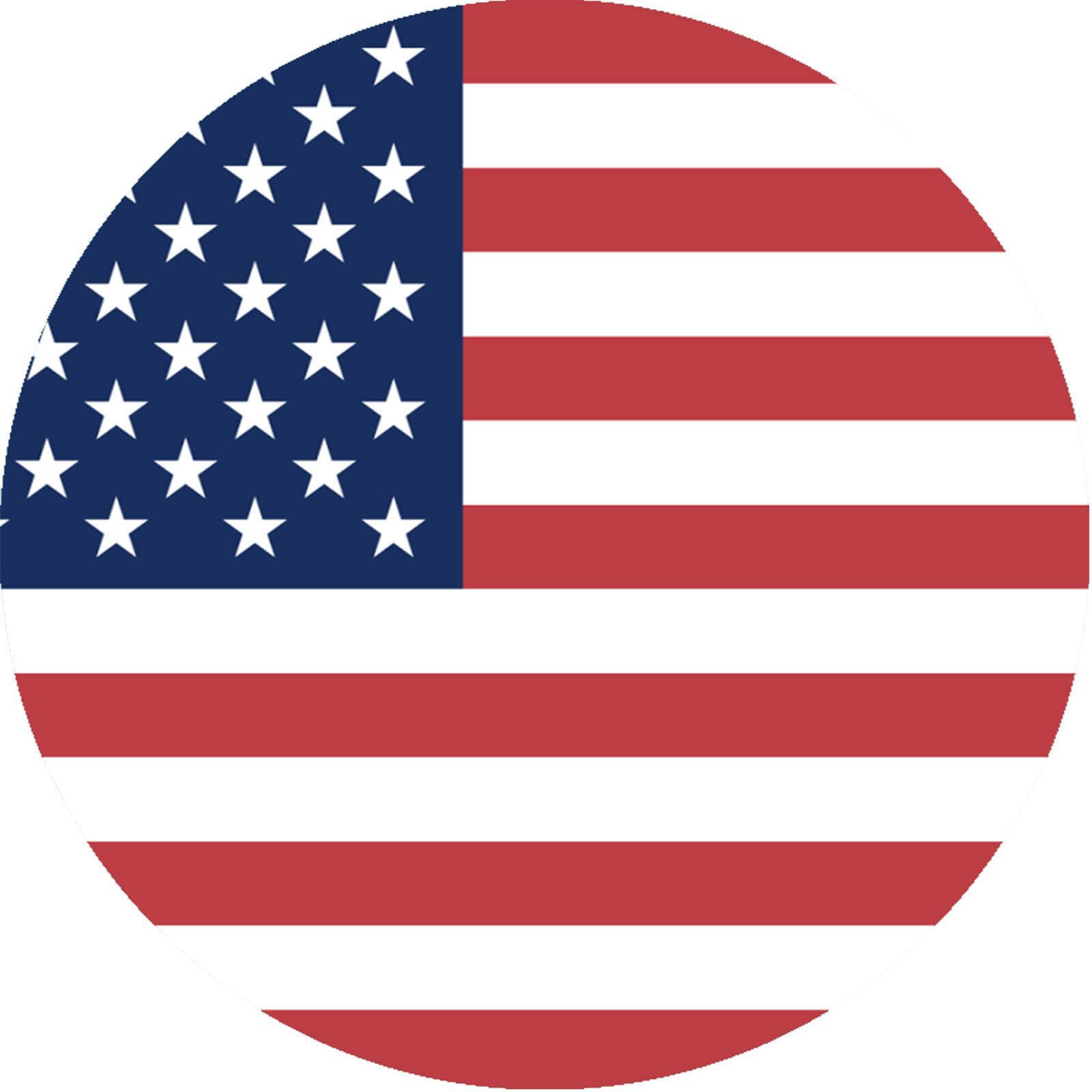 Tortenaufleger Amerika USA Flagge rund kaufen - Partydeko & Partyartikel  für Mottopartys im fixefete.de Shop kaufen