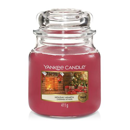 Yankee Candle Holiday Hearth mittleres Glas