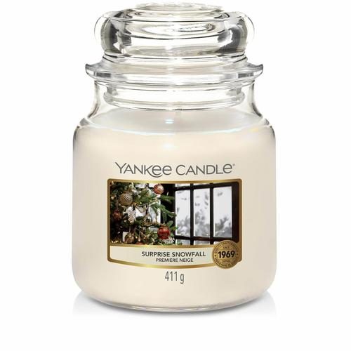 Yankee Candle Surprise Snowfall mittleres Glas