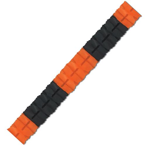 Girlande - orange & schwarz - 3,7 m