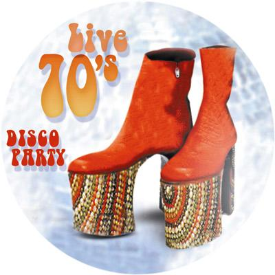 Live 70s Disco Party - Musik-CD
