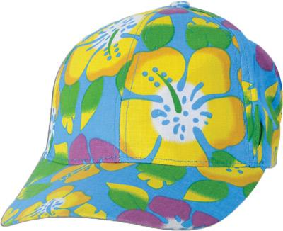 Hawaii-Party - Luau - Cap - blau