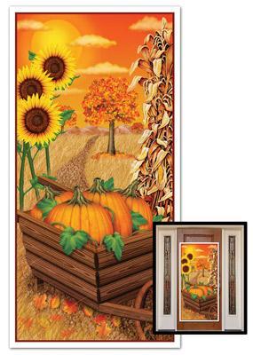 Herbst t r wanddeko for Wanddeko herbst