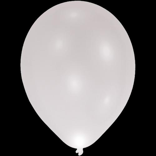 led-party-ballon-silber