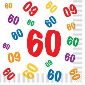 60 Geburtstag Dekoration Partydeko Partyartikel Fur Mottoparty