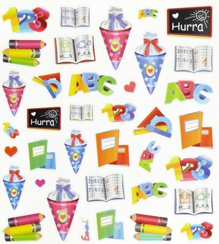 Design sticker schule partydeko partyartikel f r for Designer schule