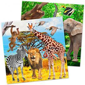 Abenteuer Urwald Safariparty Mit Wilder Dschungel Deko Partydeko