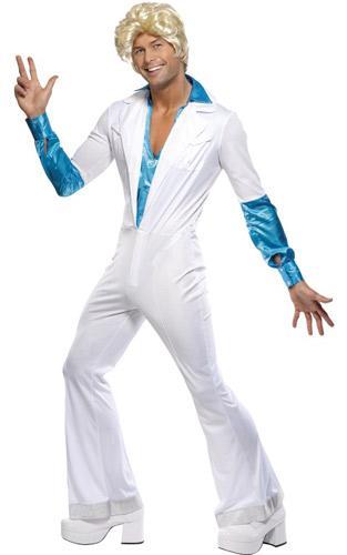 70er Kostum Disco Man Herren Outfit Grosse M P