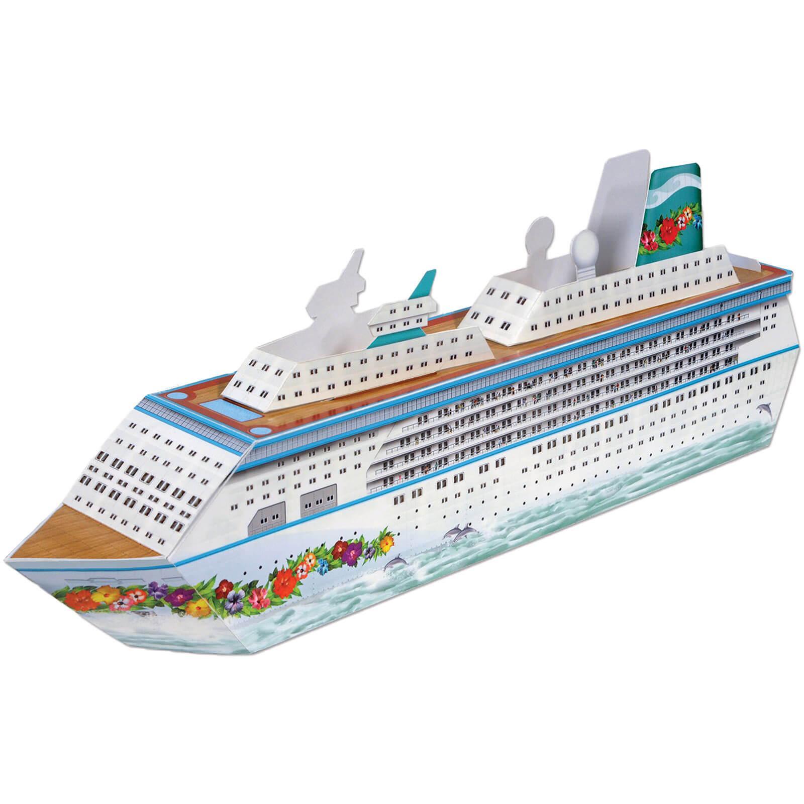Kreuzfahrtschiff Tischdeko Geschenkbox Partydeko