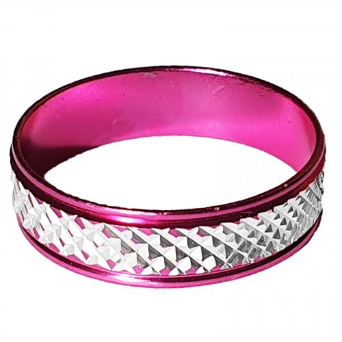 pinker Glitzerring