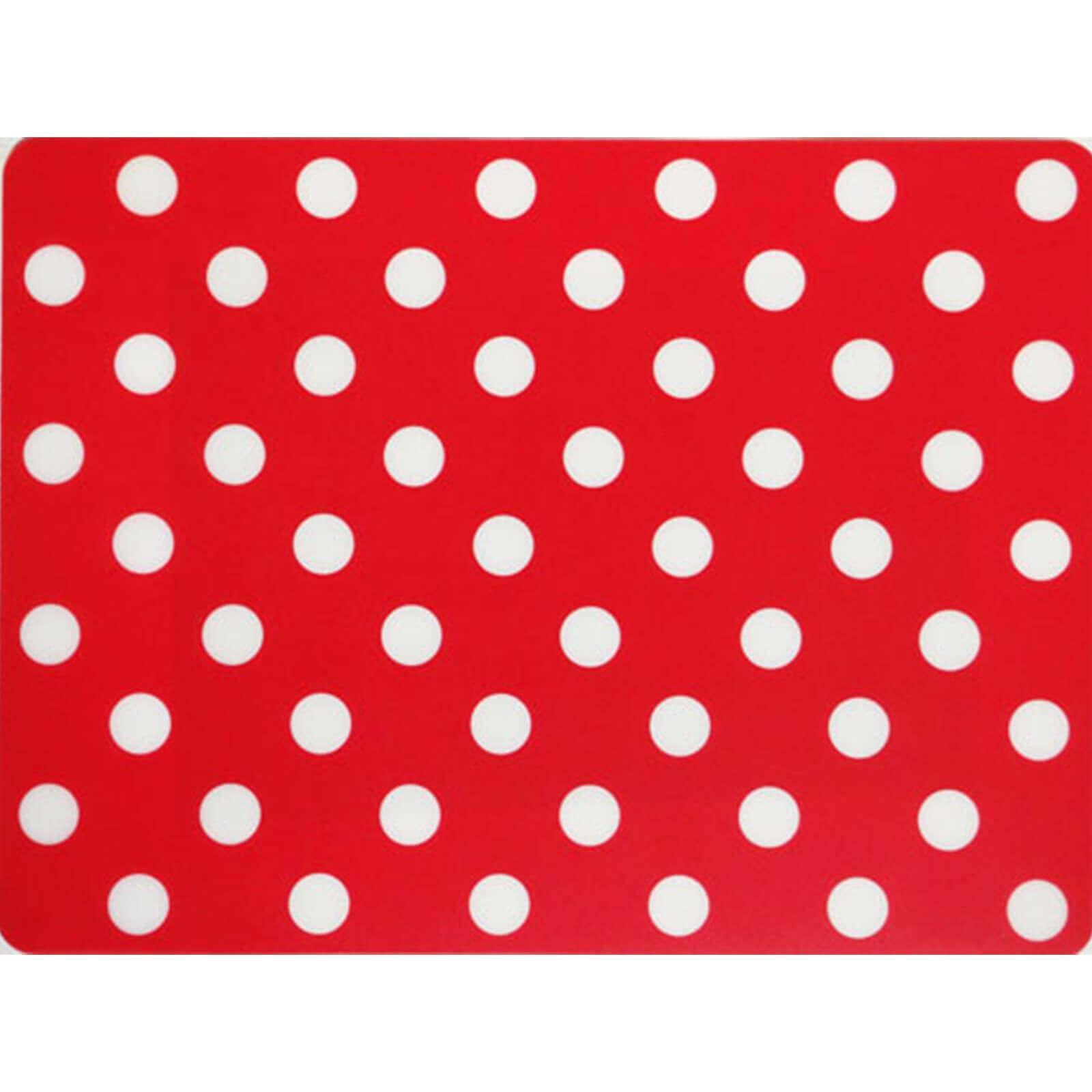 Tischset Rot Mit Weissen Punkten Partydeko Partyartikel Fur Mott