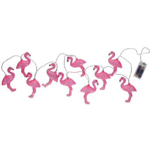 LED-Lichterkette - Flamingo