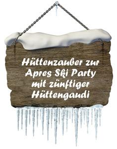 Apres Ski & Hüttengaudi - Einladungen