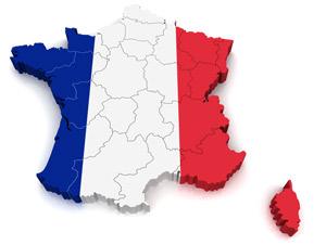 Frankreich-Party Einladung