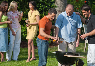 BBQ-Party - Grillparty - Gartenparty - Einladung