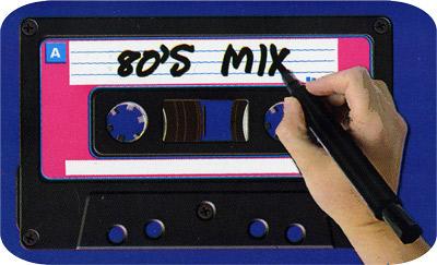 80er-Jahre-Party-Einladung