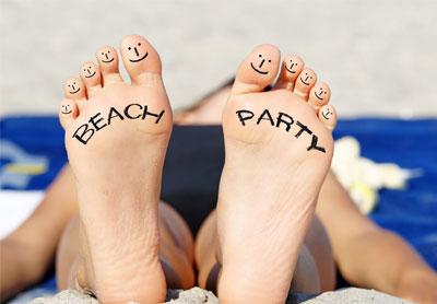 Sommerparty Einladungen