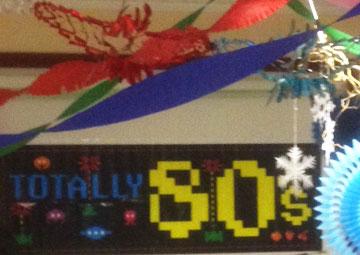 Ronnys 80er-Jahre-Party