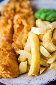 Fisch and Chips- ein Klassiker der britischen Küche