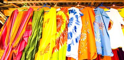 Batik-T-Shirt herstellen